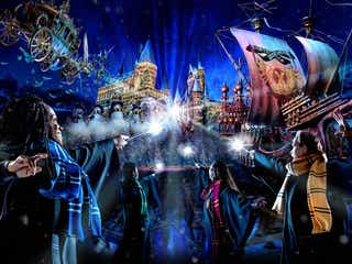 USJ「ホグワーツ・マジカル・ナイト ~ウインター・マジック~」魔法界に聖なる冬が到来