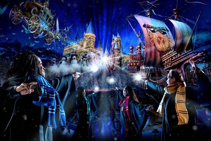ホグワーツ・マジカル・ナイト〜ウインター・マジック〜/ HARRY POTTER characters, names and related indicia are (C)& TM Warner Bros. Entertainment Inc. Harry Potter Publishing Rights(C)JKR. (s19)
