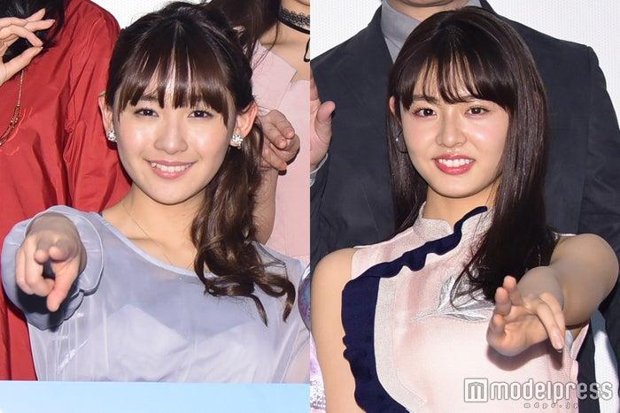 (左から)浅川梨奈、古畑星夏(C)モデルプレス