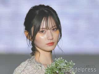 NMB48次期ビジュアルエース・山本望叶、初ランウェイで放った圧倒的美貌<関コレ2021S/S>