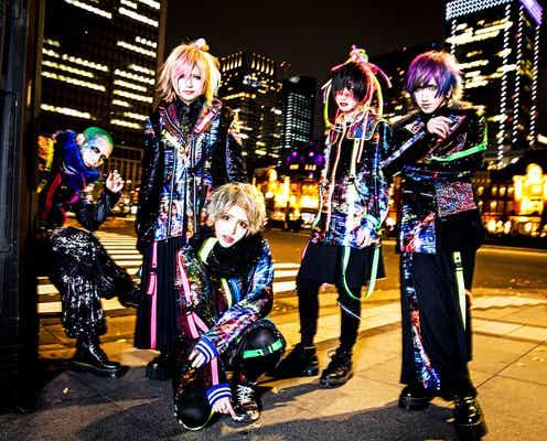 話題のヴィジュアル系バンドthe Raid.「Love music」4月度エンディングテーマに決定