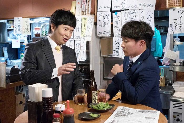 若林正恭、濱田岳 (C)テレビ東京