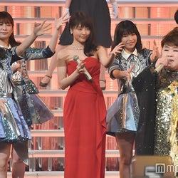 """有村架純・NMB48・Little Glee Monsterら""""関西出身""""が豪華集結 天童よしみと共演<紅白リハ最終日>"""
