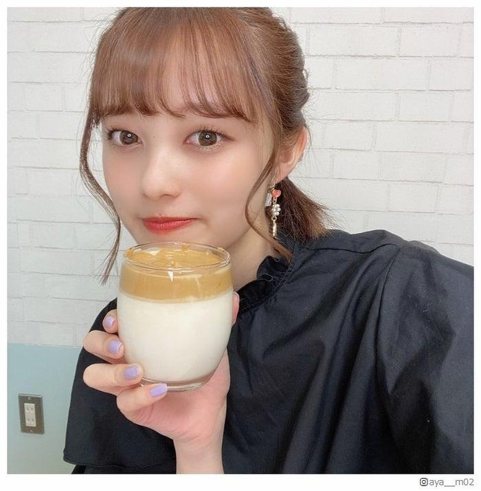 タルゴナコーヒー作りに挑戦した福山絢水/福山絢水Instagramより