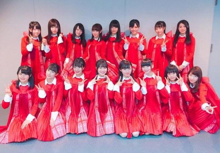 NGT48「青春時計」のオフショット(NGT48公式サイトの荻野由佳フォトログより)