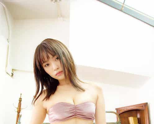 現役美女マジシャン・御寺ゆき、ビキニで珠玉ボディ披露