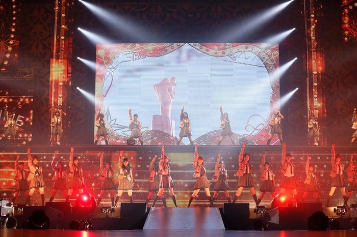 「HKT48春のアリーナツアー2018~これが博多のやり方だ!~」沖縄公演より (C)AKS