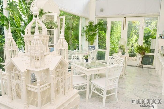 真っ白の家具で統一された憧れの空間