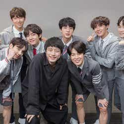 BTSと坂口健太郎(提供写真)