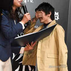 濱田龍臣、胸キュンシーン実演で照れ (C)モデルプレス