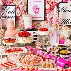 バービーコラボのいちごスイーツビュッフェ「ストロベリーホリック~Barbie in Paris~」表参道で開催