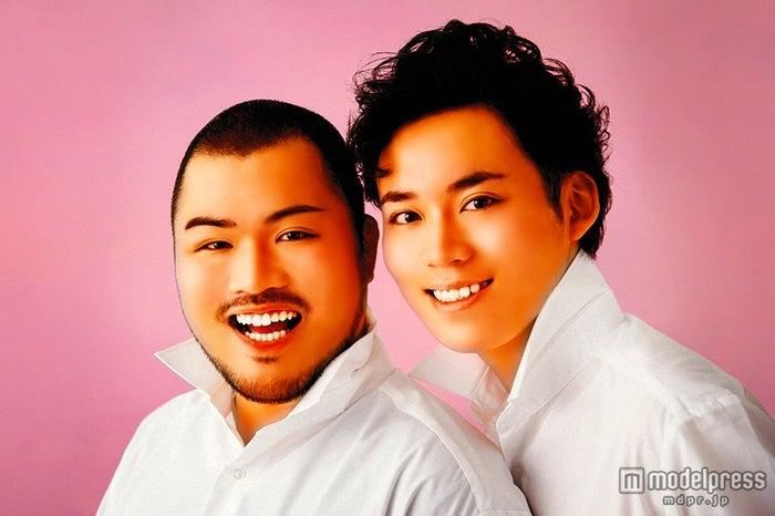 CDデビューが決まったクマムシ(左から)長谷川俊輔、佐藤大樹【モデルプレス】