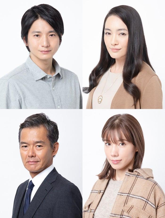 (上段左から)向井理、仲間由紀恵(下段左から)渡部篤郎、仲里依紗(画像提供:カンテレ)