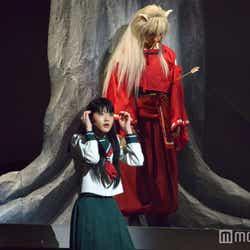 若月佑美、喜矢武豊/舞台「犬夜叉」ゲネプロの様子 (C)モデルプレス
