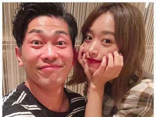 近藤千尋、ジャンポケ太田博久との結婚3周年に仲良し2ショット「素敵な夫婦」「憧れる」と反響