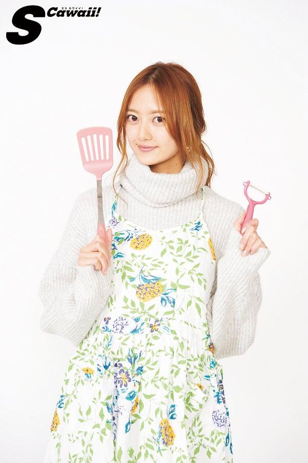『あぁ、玉の輿に乗りたい!』特集より同誌モデルの加藤雛/「S Cawaii!」12月号(提供画像)
