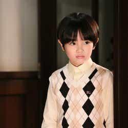 「もみ消して冬~わが家の問題なかったことに~」山田涼介の幼少期を演じる志水透哉(写真提供:日本テレビ)