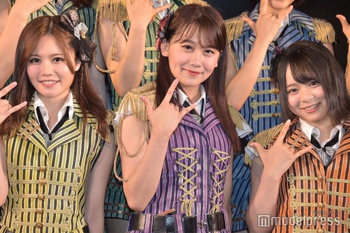 込山榛香、小嶋真子、倉野尾成美/ AKB48込山チームK「RESET」公演(C)モデルプレス