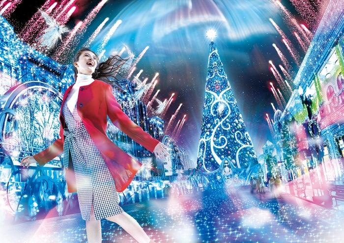 USJ「ユニバーサル・クリスタル・クリスマス」開催 パーク史上最大規模で10年ぶり完全一新/画像提供:ユニバーサル・スタジオ・ジャパン