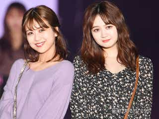 AKB48篠崎彩奈、堂々ランウェイデビュー SKE48江籠裕奈と2ショット<GirlsAward 2019 A/W>