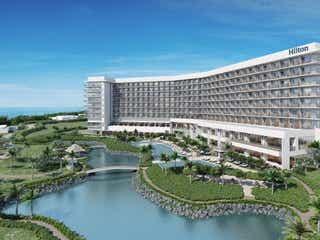 「ヒルトン沖縄瀬底リゾート」2020年7月開業、海一望の全室オーシャンビュー客室