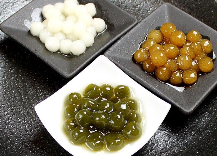 日本茶を練りこんだ 独自の生タピオカ/画像提供:LIFEstyle