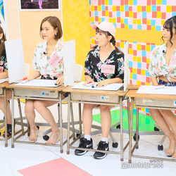 (左から)金山睦、東口優希、三田寺理紗、星乃まおり(C)モデルプレス (C)モデルプレス