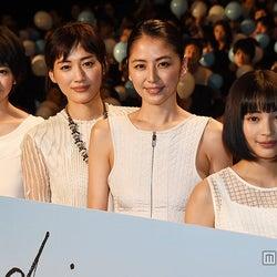 夏帆、綾瀬はるか、長澤まさみ、広瀬すず/2015年6月撮影(C)モデルプレス