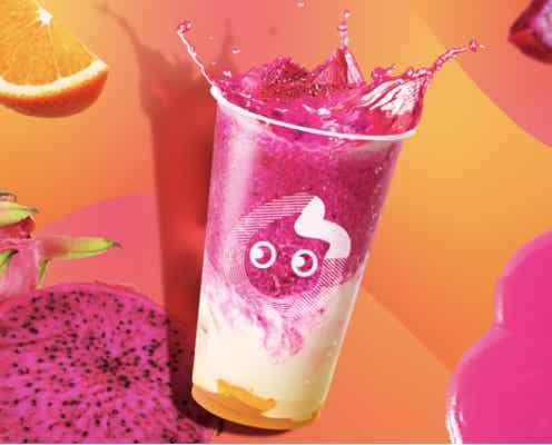 CoCo都可「トロピカルドラゴンフルーツ」華やかピンク&ヨーグルトのヘルシーな味わい