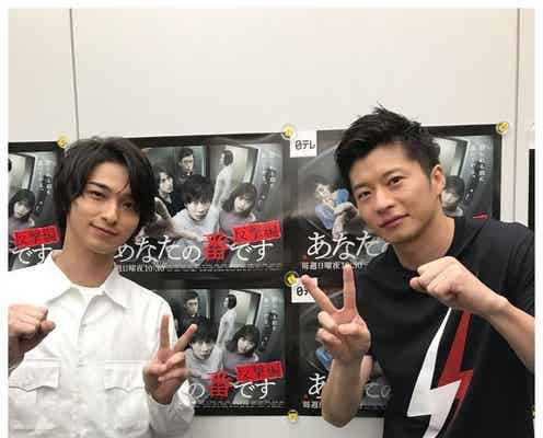 「あなたの番です」田中圭&横浜流星「2人とも散髪」写真に反響