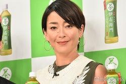 """宮沢りえ、V6森田剛と結婚後初の公の場 """"夫""""が祝福に感謝"""