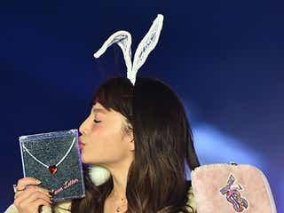 """「Ranzuki」ちぃぽぽのキス顔に観客胸キュン キュートな""""うさぎ""""に<GirlsAward 2015 A/W>"""
