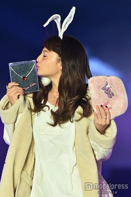 「GirlsAward 2015 AUTUMN/WINTER」に出演したちぃぽぽ【モデルプレス】
