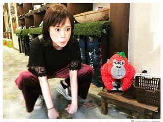 大原櫻子、ゴリラモノマネに反響「似すぎ」「かわいい」