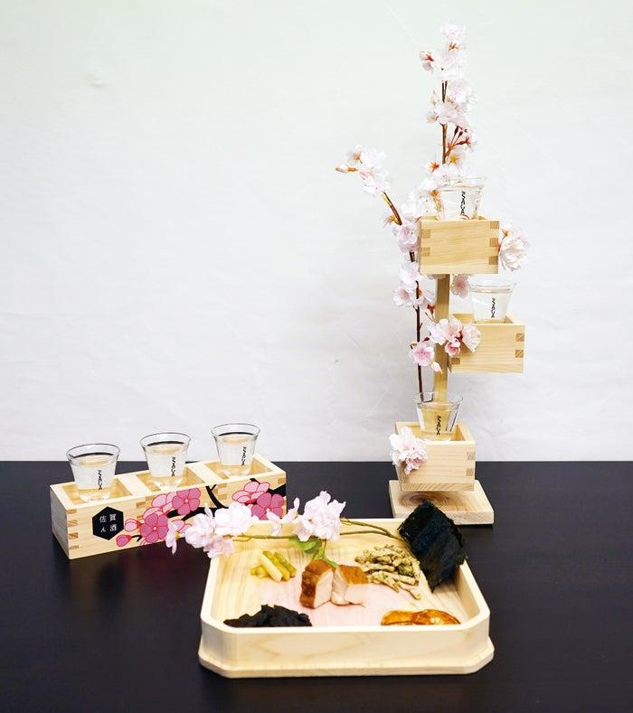 一本桜&佐賀名産おつまみの6種盛り合わせ/画像提供:アフロ&コー