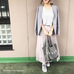 【GU・ユニクロ】優秀スカートでおしゃれ上級者コーデ4選