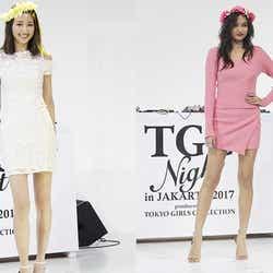 モデルプレス - 鹿沼憂妃、香川沙耶ら美脚全開 JKT48も登場でジャカルタ熱狂
