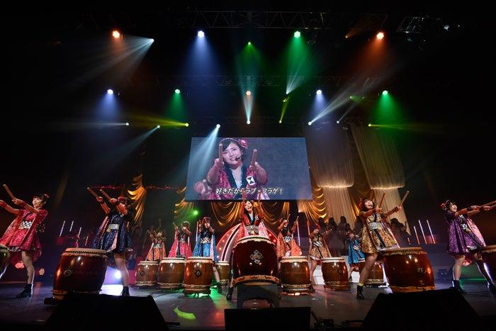 兒玉遥ら「第6回 AKB48紅白対抗歌合戦」(C)AKS