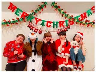 きゃりー、Perfume&ハリセンボン近藤春菜との豪華クリスマスショット披露