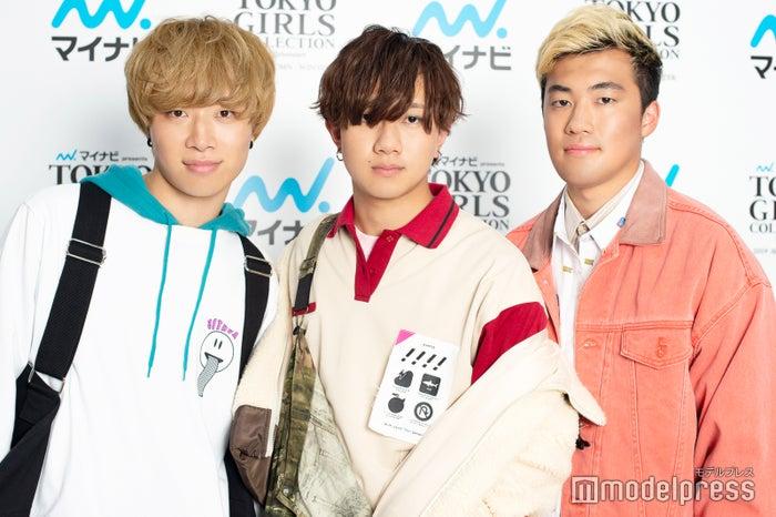 モデルプレスのインタビューに応じたアバンティーズ(左から)ツリメ、そらちぃ、リクヲ(C)モデルプレス