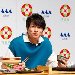 田中圭「僕のエネルギー」新米&焼肉を完食 CM撮影は「ちょっと照れました」