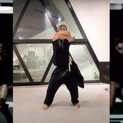 倖田來未、自宅で簡単エクササイズ提案「BE MY BABY」振り付け動画公開