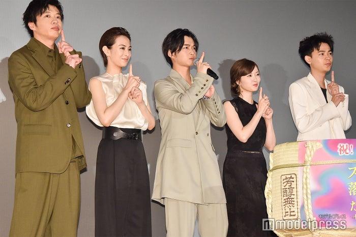 「どろん!」/田中圭、北川景子、千葉雄大、白石麻衣、成田凌 (C)モデルプレス