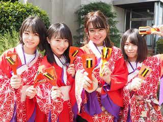 AKB48チーム8「星空を君に」「思春期のアドレナリン」のよさこいver.披露