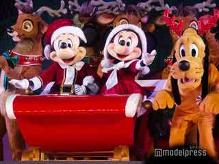 ミッキー&ミニーがサンタ姿に マジックキングダム・パーク「ミッキーのベリー・メリー・クリスマス・パーティー」は華やかさMAX<イベントまとめ>