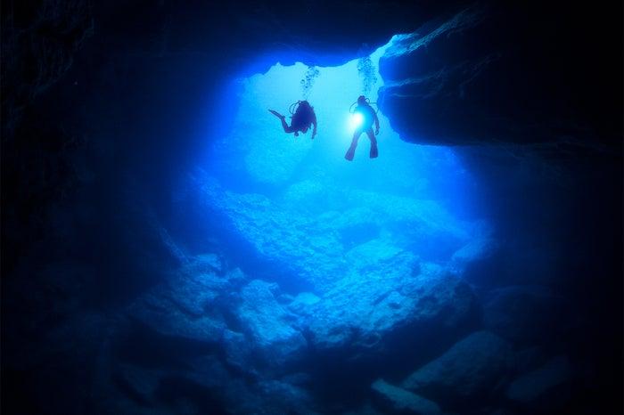 サイパンの「青の洞窟」といえばグロット(C)Junji Takasago/MVA