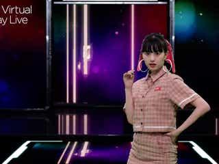 「仮面ライダーゼロワン」で話題の鶴嶋乃愛、キュートなウインクに胸キュン<Tokyo Virtual Runway Live by GirlsAward>