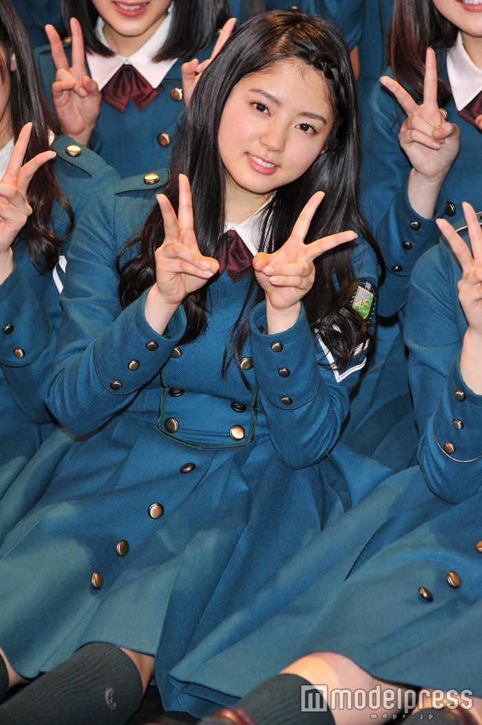 「ミュージックステーション スーパーライブ2018」でセンター・平手友梨奈の代理を務めた鈴本美愉 (C)モデルプレス