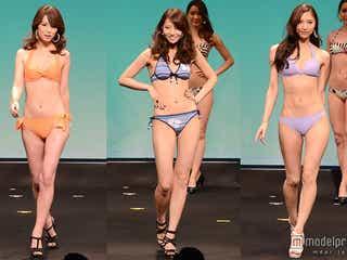 ビキニで美ボディ披露 日本の美女たちが一堂集結<2014ミス・アース・ジャパン/写真特集>