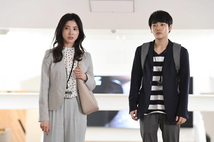 吉高由里子、泉澤祐希/「わたし、定時で帰ります。」より(C)TBS